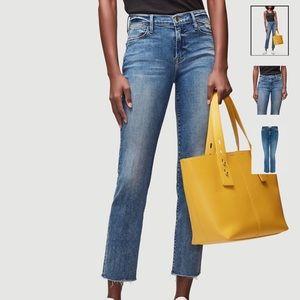 FRAME Le High Straight Jeans Roxton Current Season